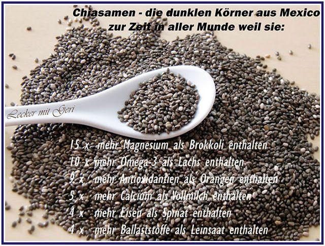 Lecker mit Geri: Chia Pudding mit Mango - Пудинг с чиа семена и манго