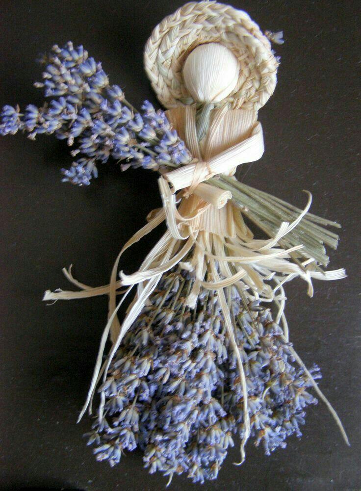 Lavender doll