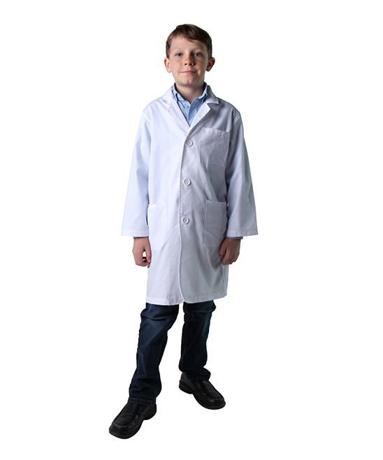 White Lab Coat Dress-Up Outfit - Kids