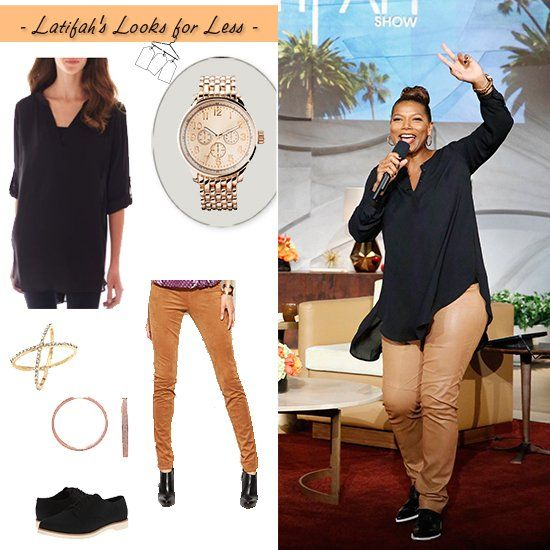 extraordinary queen latifah outfit