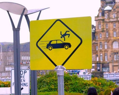 The Best Funny Road Signs Ideas On Pinterest All Road Signs - Car sign meaningsfunny alternative road signs car keys