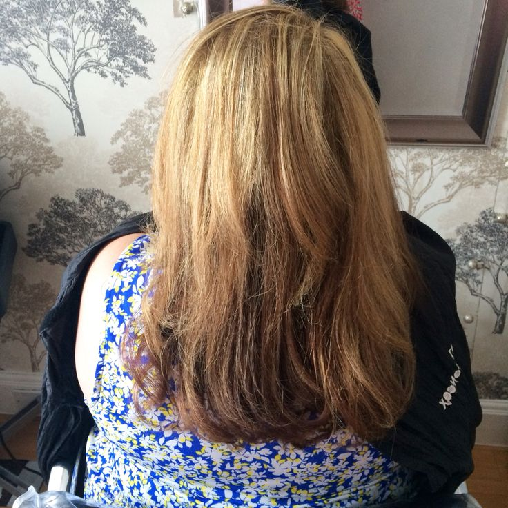 at the weekend i did t section of highlights & tint. using bleach and 7.0 for tint.  with a hair cut after