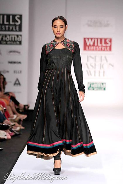 Shruti Sancheti at Wills Lifestyle India Fashion Week A/W 2014