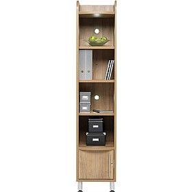 trilogy tall narrow bookcase unit