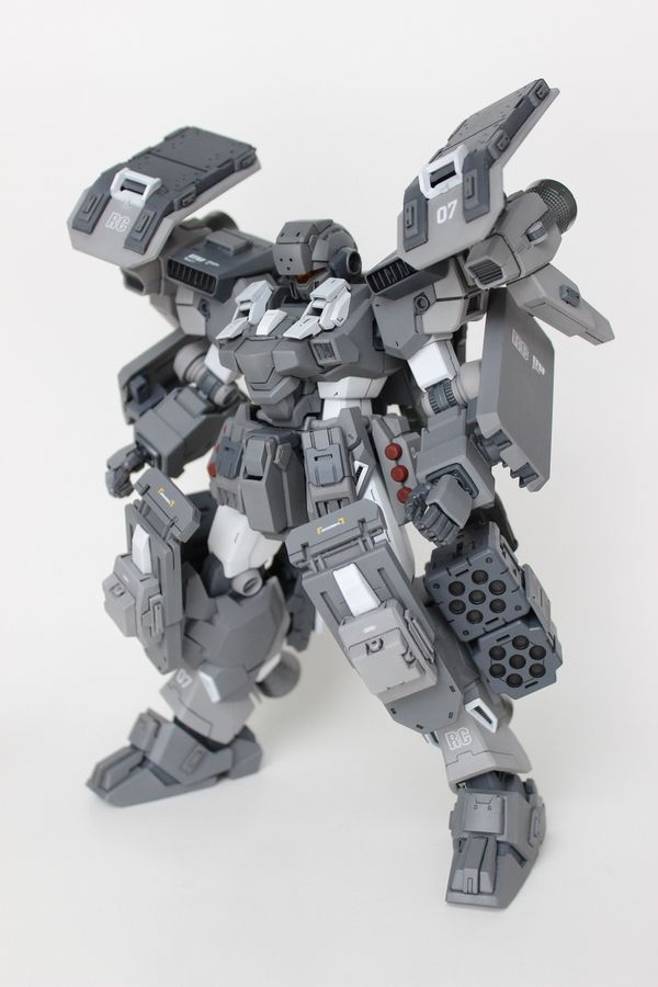 "Custom Build: MG 1/100 Jesta ""HAVOC"" - Gundam Kits Collection News and Reviews"