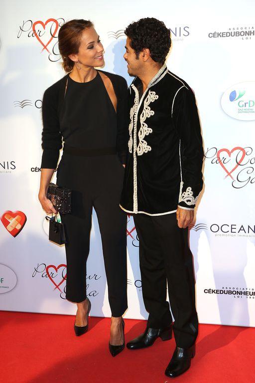 Jamel Debbouze et Mélissa Theuriau complices lors du galaCekedubonheur (photos)