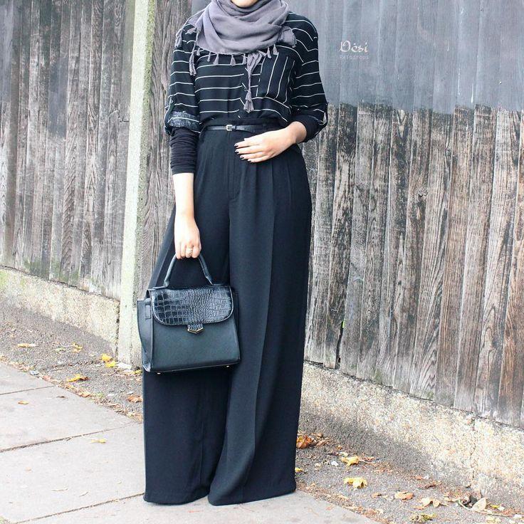 Poplook Long Muslimah Blouse Tunic