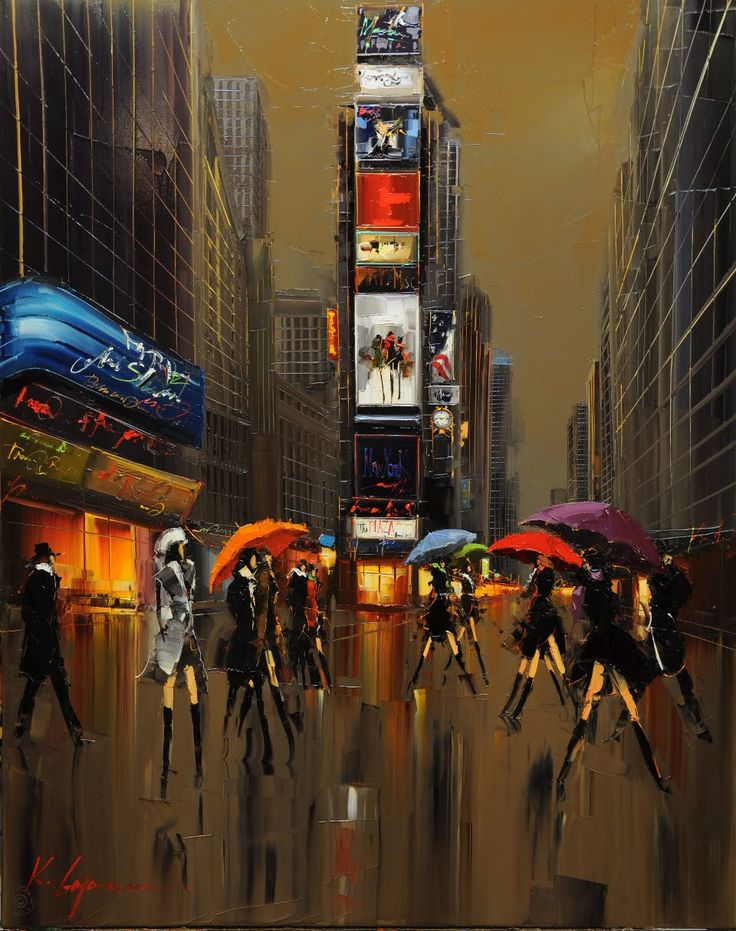 Kal Gajoum; Umbrellas of New York
