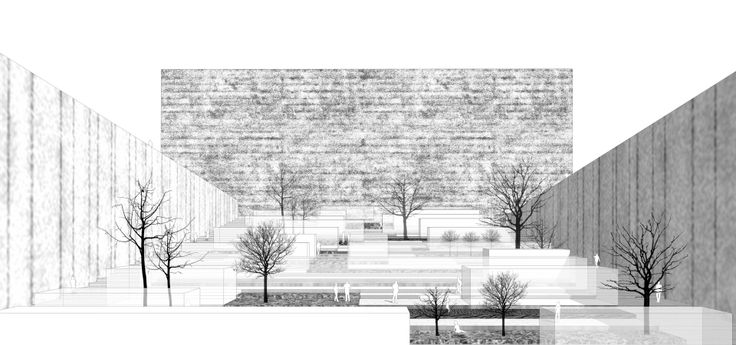 Development concept of the Main Campus of Warsaw University of Technology competition entry by jrk72