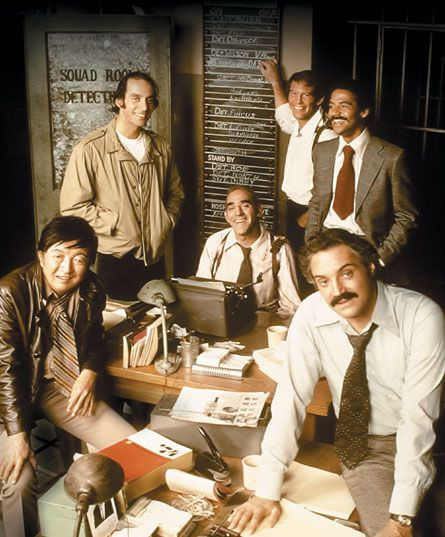 Barney Miller.  Never thought of as one of the best comedies, but it was.   Fish: The doctor said he was very lucky, the bullet just grazed him.  Barney Miller: Where'd she hit him?  Fish: In the inseam.