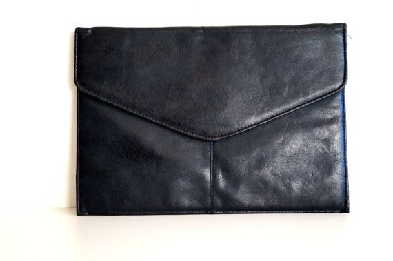 1960s/70s Vintage Clutch Vintage clutch. Black by vintagdesign