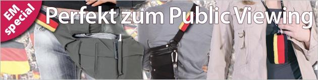 """EM2012: Tascehn für die Fan-Meile - """"Flagge zeigen"""""""
