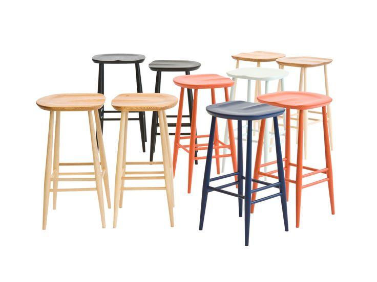 Ercol Originals Bar Stool  sc 1 st  Pinterest & 115 best tabouret de bar images on Pinterest | Bar stools Counter ... islam-shia.org