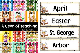 A year in TeachingCards Ingles360, Brain Gym, Spring Classroom, Schools Stuff, Kindergarten Literacy, Teachers Corner, Teachers Stuff, Classroom Ideas, Wall
