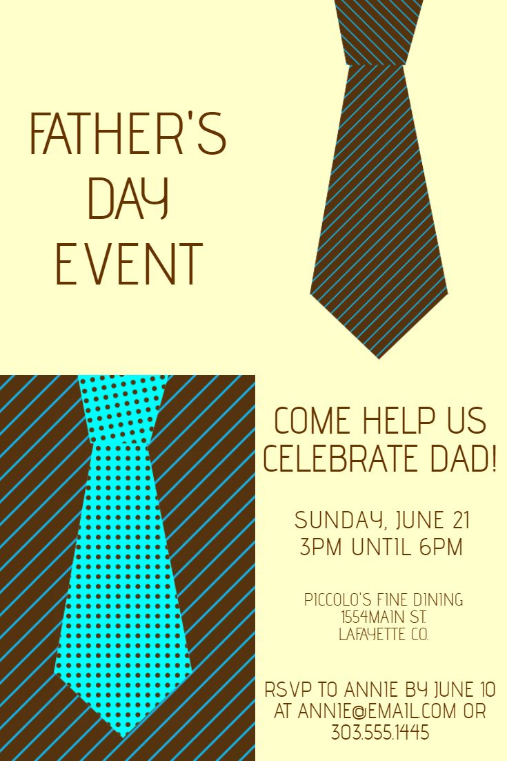 Poster design help - Father S Day Poster Template Click On The Image To Customize On Postermywall