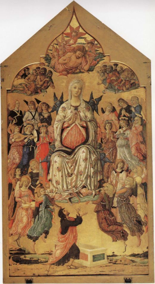 Matteo di Giovanni's The Assumption of the Virgin,