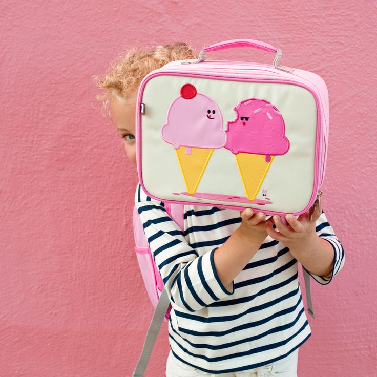Dolce and Panna the Ice Cream Cones Lunch Box