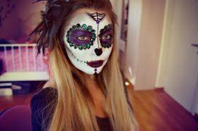 Girlicious Beauty : Mexican Sugar Skull Makeup