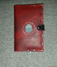 This happens to be a journal cover for a book 9 inches x 6 inches. It is top notch leather. It is reusable. $25