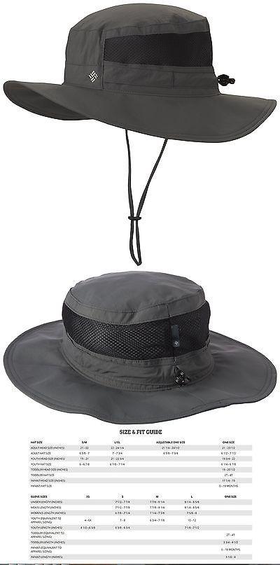 Hats and Headwear 70810: Columbia Sportswear Bora Bora Booney Ii Sun Hats Grill One Size -> BUY IT NOW ONLY: $46.03 on eBay!