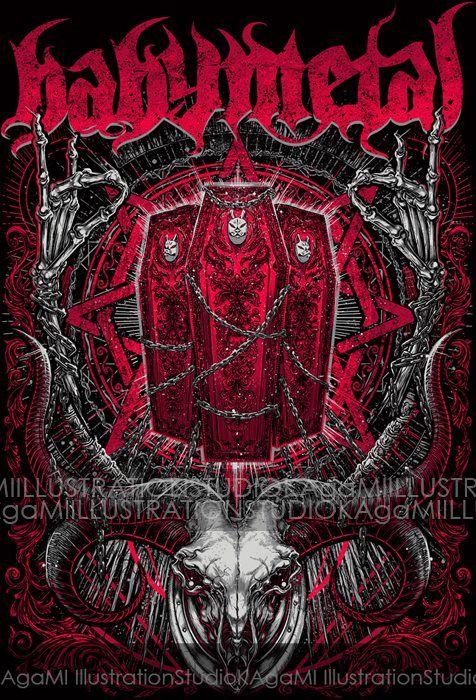 #Babymetal - #YuiMetal - #MoaMetal - #SuMetal (476×700)