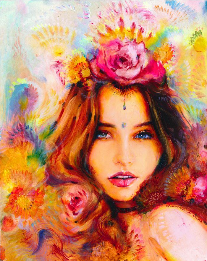 2015 Paintings - Charmaine Olivia