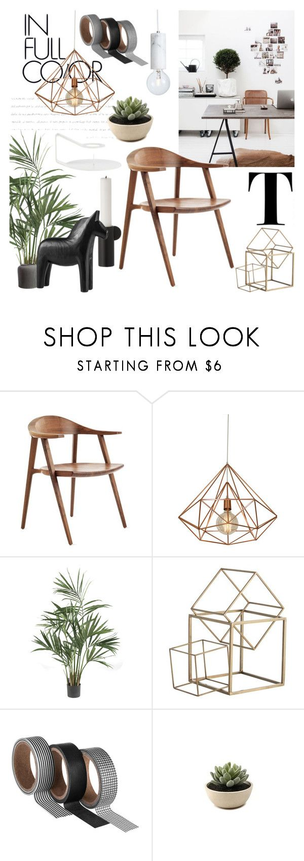 """""""Different Textures"""" by sofiehoff on Polyvore featuring interior, interiors, interior design, home, home decor, interior decorating, Nearly Natural, Arteriors and Normann Copenhagen"""