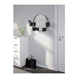 SÄLLSKAP Mirror, black - IKEA