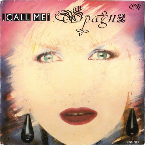 Pochette Espagna Call Me Italo Disco Disco Music Album Cover Art
