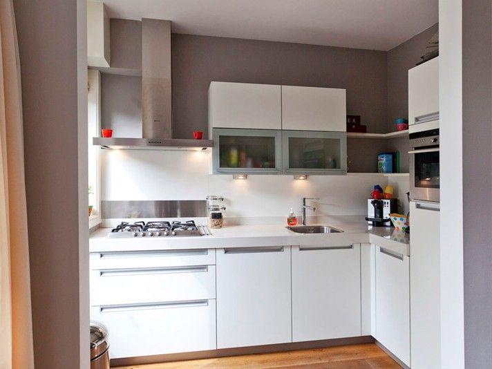 In een jaren 30 huis in utrecht gaf ik kleuradvies voor de woonkamer met eetgedeelte en de open - Keuken open voor woonkamer ...