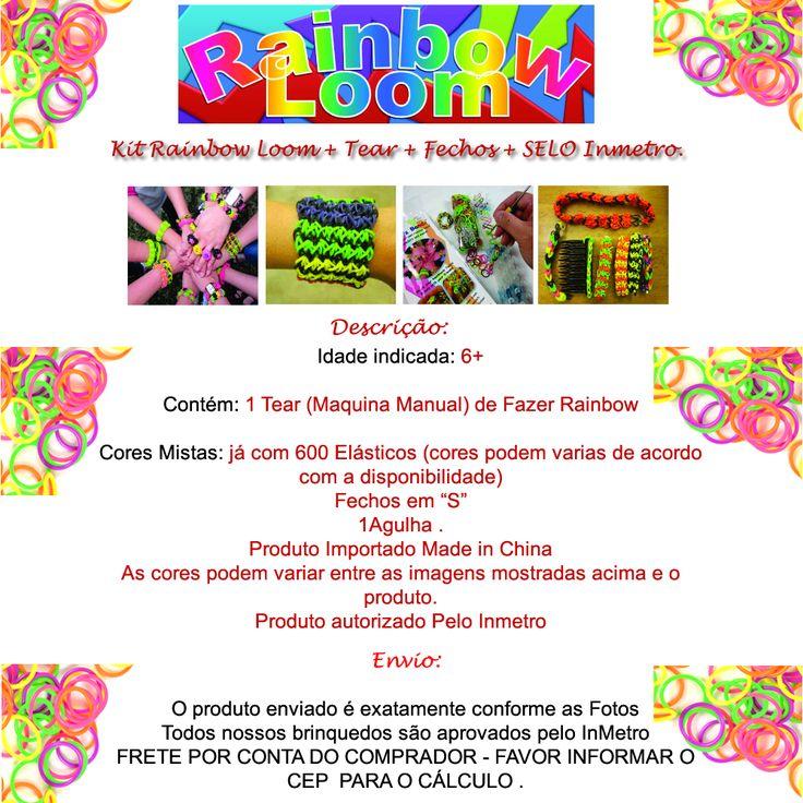 http://Faça você mesmo: Pulseira de elástico- Rainbow Loom Bracelet Designs without a Loom -  Rubber band Bracelets- Rainbow Loom Charms: PEACE SIGN (Crazy Loom bands Fun Loom- Rainbow Loom HORSE / PONY Design / Tutorial (loom / bands, DIY Mommy Animals, My Little Pony)- Loom Bandz Anleitung Deutsch Zuckerstange (Loom Bands Deutsch Rainbow Loom Weihnachten)- How to make a multicolor rainbow Loom, Triple Single bracelet. This bracelet is my best seller--