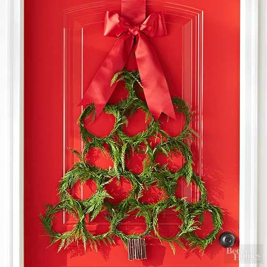 66993 best bhg 39 s best diy ideas images on pinterest home for Unique christmas door decorations