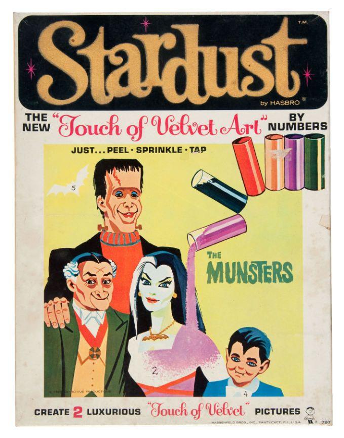The Munsters Stardust velvet paint kit