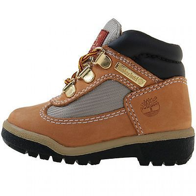TIMBERLAND FIELD BOOT TODDLER 15845 Wheat Waterproof Td Boots Shoes Baby Size 10