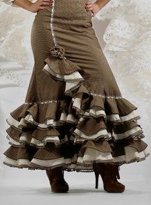Faldas Flamencas Laina normal sra.