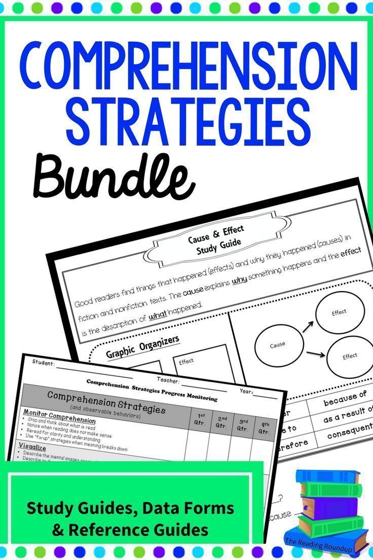 Comprehension monitoring strategy guide.