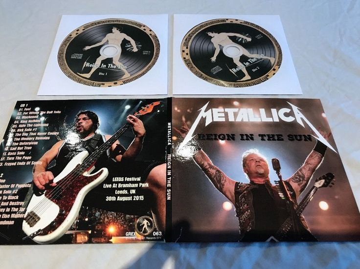 Metallica Reign In The Sun Live CD Leeds Festival 30/08/2015 Complete Show *Rare | Music, CDs | eBay!