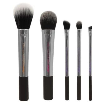 เก็บเงินปลายทาง  Real Techniques 5-Piece Makeup Brush Set  ราคาเพียง  410 บาท  เท่านั้น คุณสมบัติ มีดังนี้ Detailer Brush - Precision cut to effortlessly concealproblem areas; or use with lipstick for long-lasting shape anddefinition. Pointed Foundation Brush - Use with liquid foundation tobuild custom coverage. Buffing Brush - Ideal for full coverage application ofpowder and mineral foundation. Contour Brush - Delicately applies highlighter to contouror create sheer, soft-focus finish…