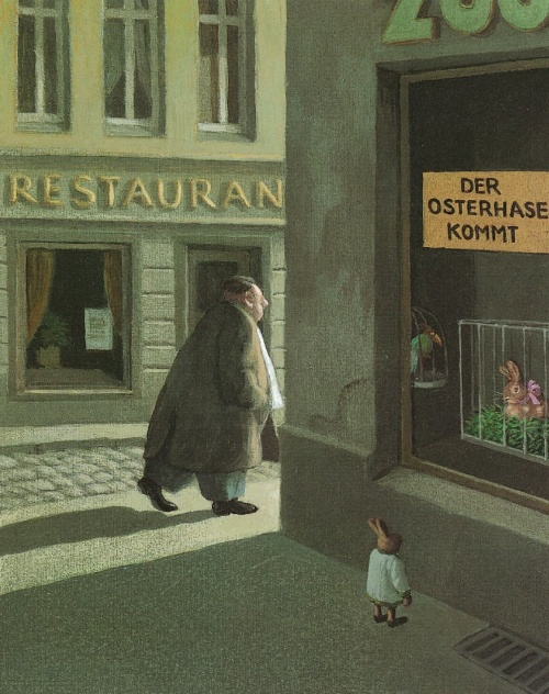 The Easter Bunny  is Coming... by Michael Sowa.