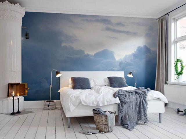 Best 25 papier peint nuage ideas on pinterest papier peint b b papier peint pour le chambre - Papier peint enfant vintage ...
