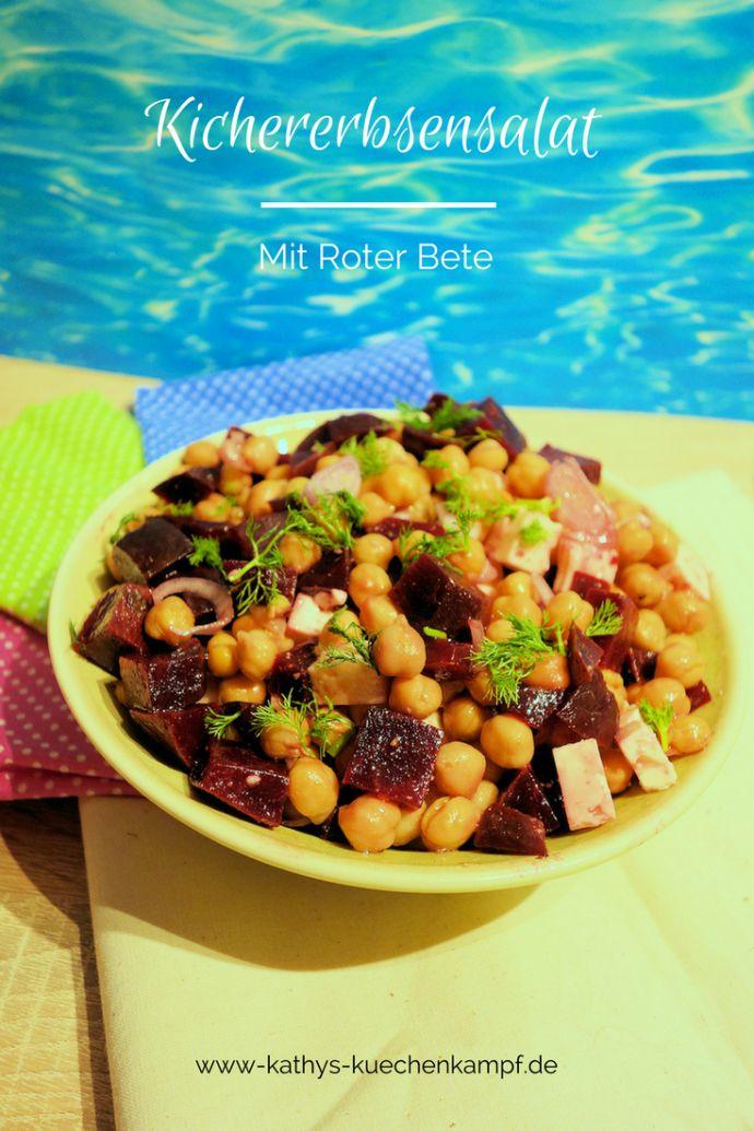 Dieser wundervolle Salat mit Kichererbsen, Roter Bete und Feta entführt Euch mit seinen Gewürzen in die orientalische Küche.