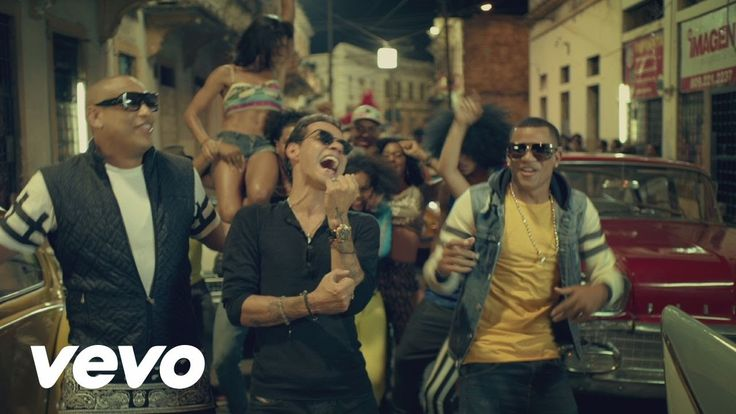 Gente de Zona - La Gozadera (Official Video) ft. Marc Anthony - YouTube /  So move your hips from side to side😍
