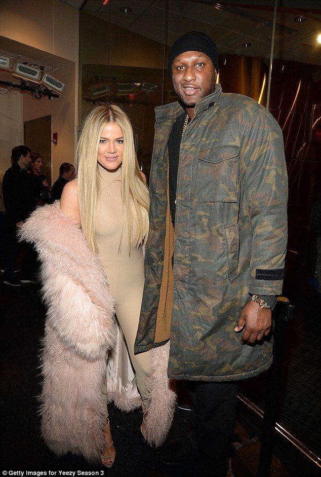 On again? Star magazine claims Khloe and Lamar Odom are back together; here they are seen ...