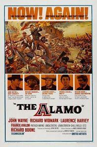 The Alamo Movie Poster John Wayne RARE Hot Vintage 3 | eBay