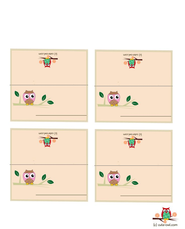 113 best printables owls images on pinterest owls free if you are hosting an owl themed baby shower party or birthday party you will love these free printable cute owl place cards bookmarktalkfo Image collections