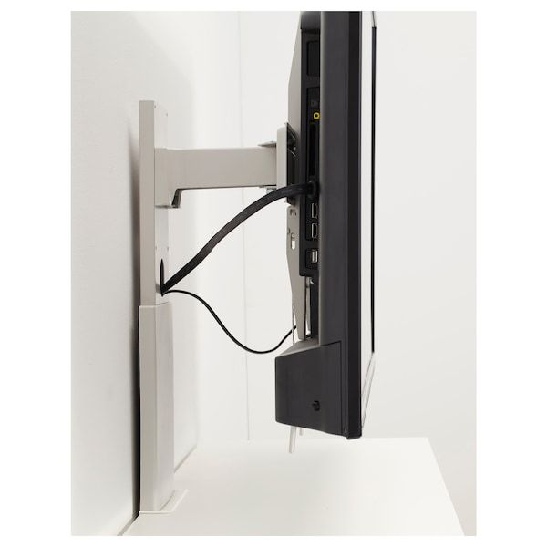Uppleva Bracket For Tv Swivel Light Gray 37 55 In 2020 Tv Holder Tv Bracket Swivel Tv Stand