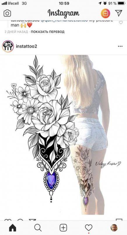 Neue Tattoo Mädchen Blume Hand 51+ Ideen