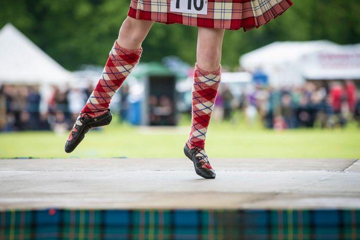 Een Highlanddanser op de Blair Atholl Highland Games © Kenny Lam