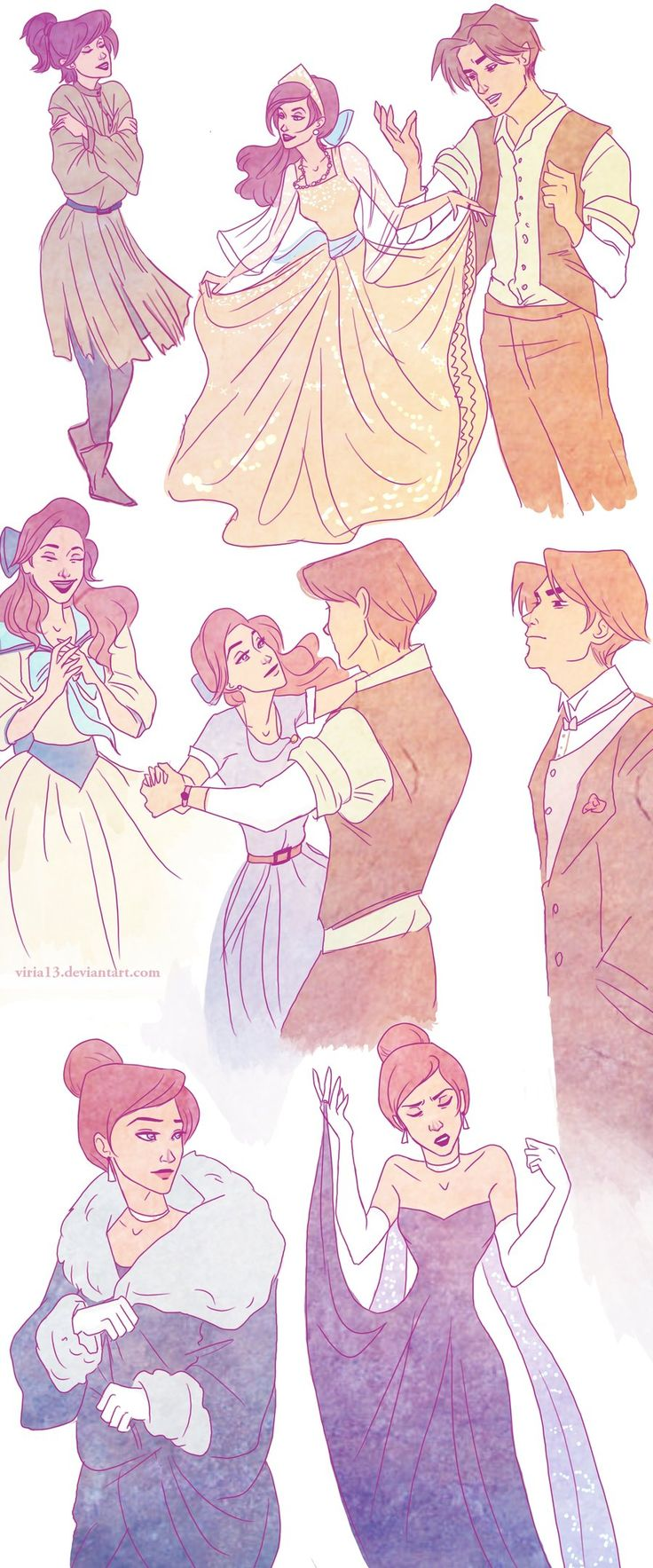 Anastasia - Not Disney, but absolutely PERFECT nonetheless.