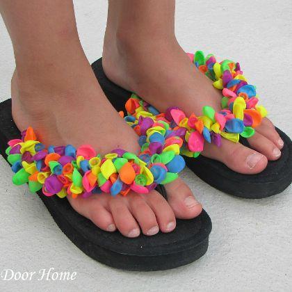 18 Fabulous Flip Flop Craft Ideas|Spoonful